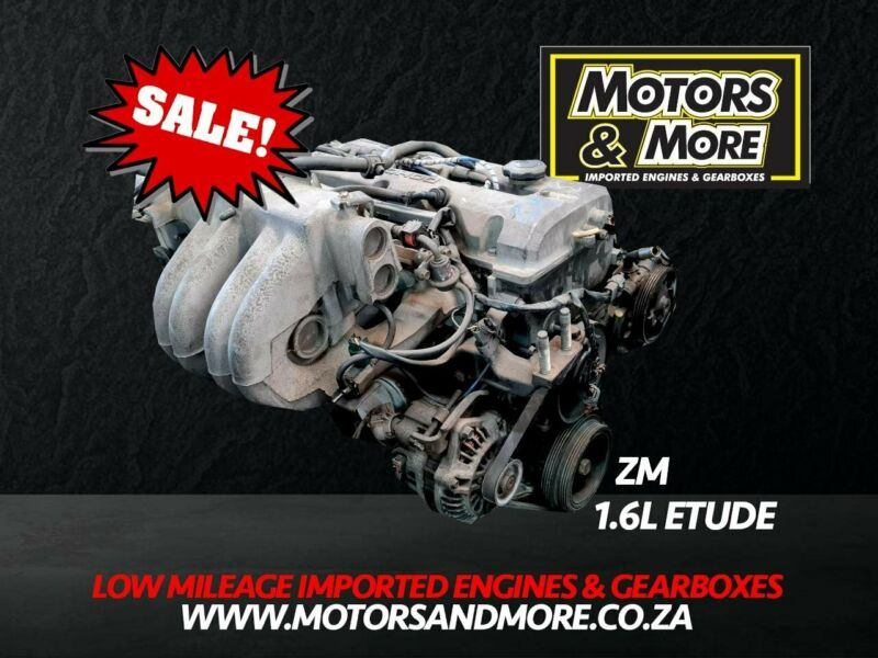 Mazda Etude ZM 1.6 Engine For Sale No Trade in Needed