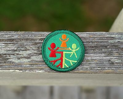 girl boy Patches Crest Badge HISPANIC HERITAGE Scouts Guide  thinking day Latin