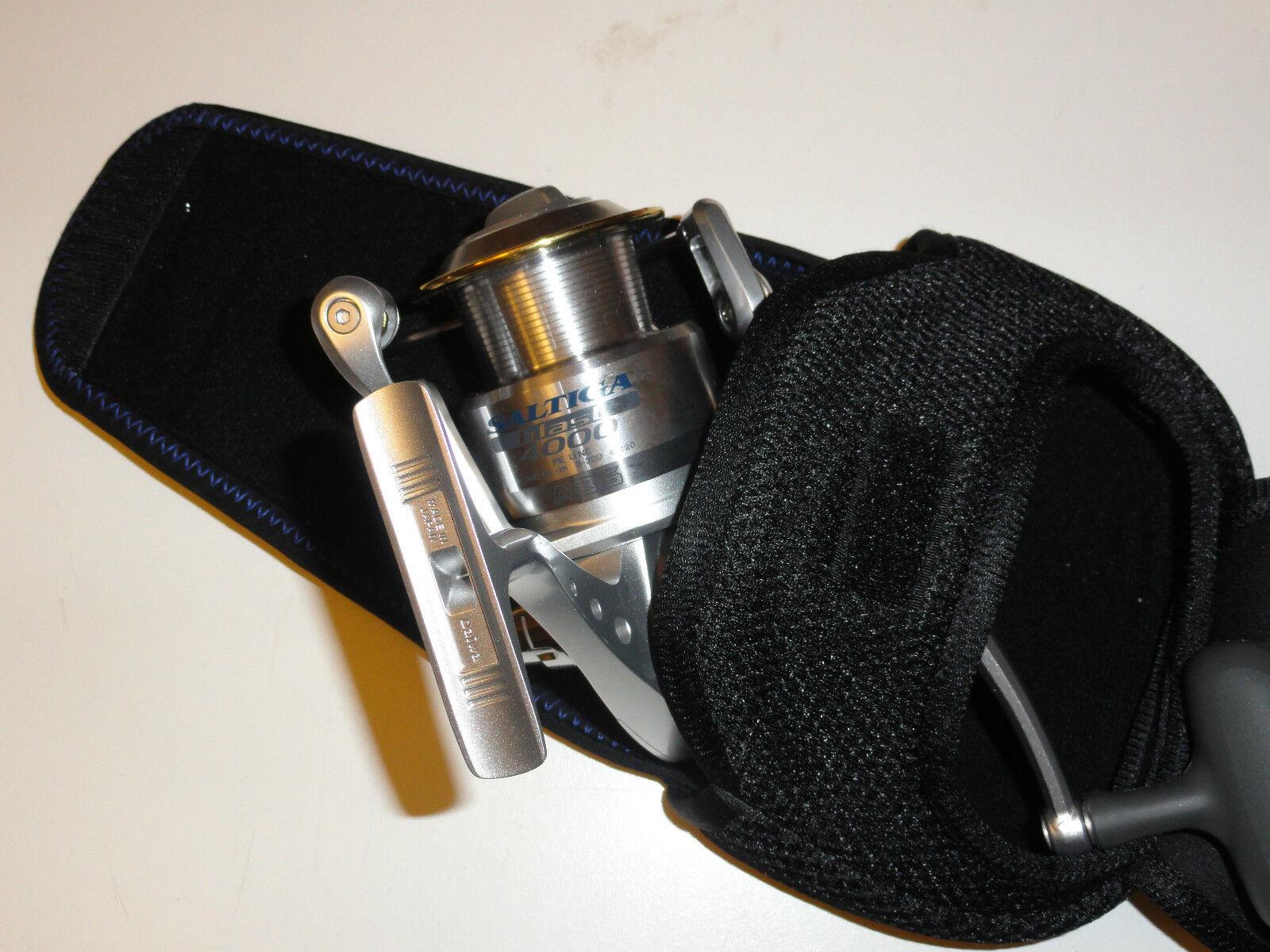 4 Mâchoires Spinning Reel Cover étui taille XL L M S pour Daiwa Okuma Penn Shimano Reel
