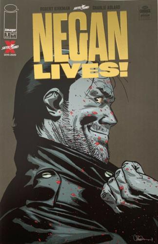 WALKING DEAD NEGAN LIVES #1 GOLD FOIL VARIANT COVER 1 PER STORE IMAGE COMICS HTF
