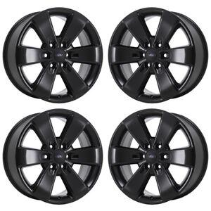 20 Ford F 150 Fx4 Black Wheels Rims Factory Oem 2012 2013 2014 2015
