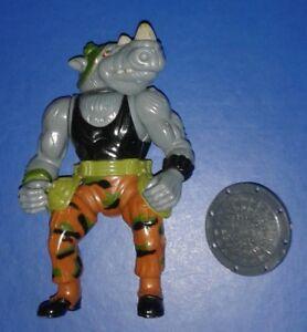 1988 Original *** Rocksteady 1 *** Teenage Mutant Ninja Turtles Tmnt