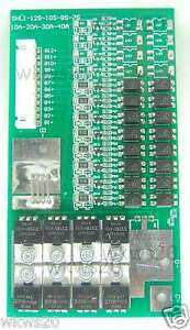 8-cells-24V-40A-60A-peak-balancing-LiFePo4-Lithium-iron-phosphate-Protection-PCB
