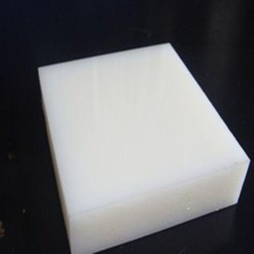 1pc ACETAL POM Plastic Polyoxymethylene Plate Sheet 20mm x 100mm x 100mm  GY