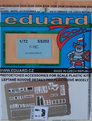 Eduard Accessories SS202 F-16CJ Fighting Falcon in 1:72