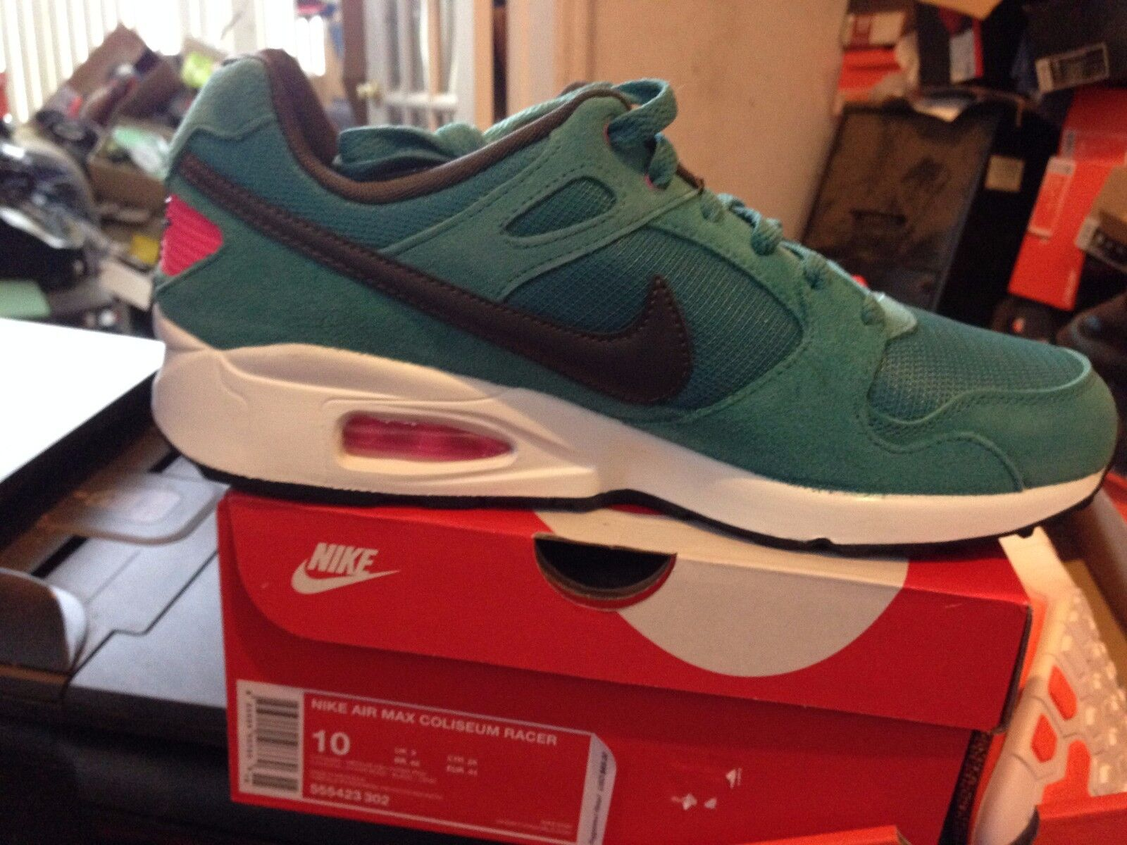 NIKE AIR MAX COLISEUM RACER BNIB SIZE 10 BLUE/WH/BLK Comfortable and good-looking