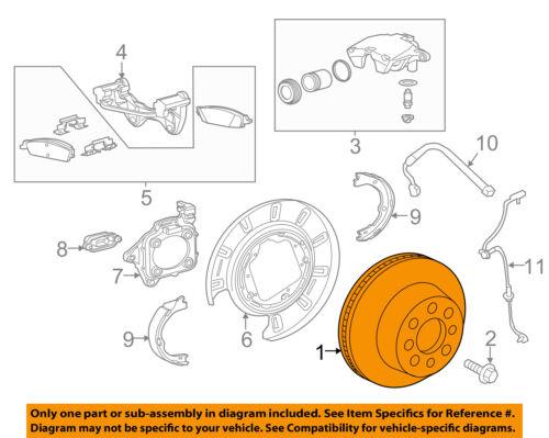 GM 23195438 Disc Brake Rotor