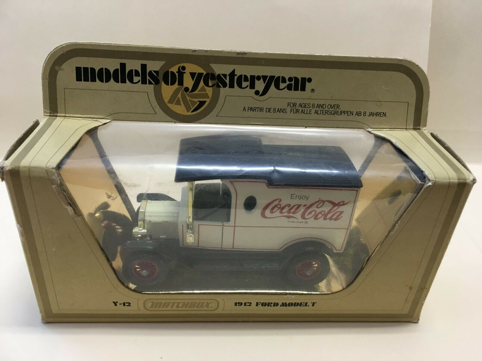 Matchbox Models of Yesteryear 1912 Ford Model T Coca- Cola Y-12