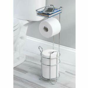 Toilet Paper Holder Fl Stand Shelf