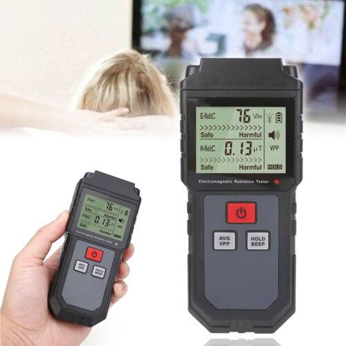 UK Electromagnetic Radiation Tester EMF Meter Electric Magnetic Field Detector