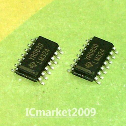 20 PCS LM324DR SOP-14 LM324D LM324 SMD QUADRUPLE OPERATIONAL AMPLIFIERS