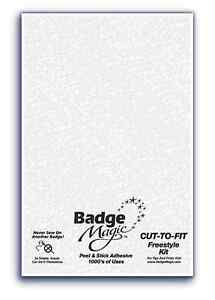 Badge-Magic-Instant-Tissu-Patchs-Adhesifs-Coupe-pour-Freestyle-Kit-Badgemagic