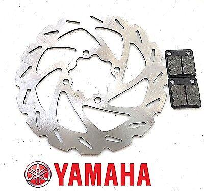 Yamaha Rear Brake Disc Rotor Pads Raptor YFM 660 R 2001 2002 2003 2004 2005