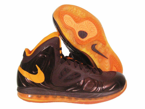 NIKE AIR MAX HYPERPOSITE Basketball SZ 18 Team Brown/Orange 524862-200