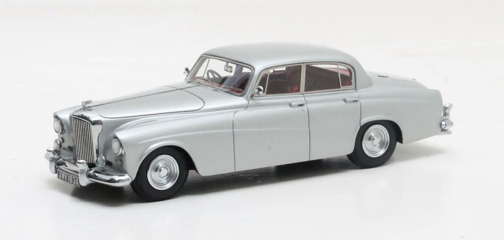 Bentley S 2 Continental Sports Hooper argent 1959 1 43 Matrix