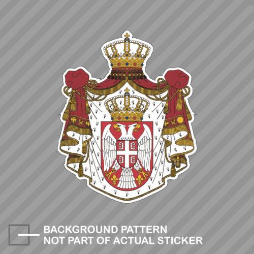 Serbian Coat of Arms Sticker Decal Vinyl Serbian flag SRB RS