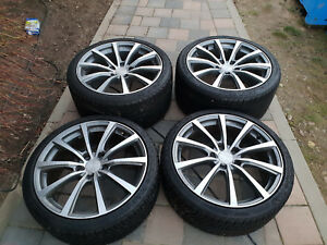 Winterraeder-Michelin-Alpin-A4-N0-7mm-Brock-B3-Alufelge-Porsche-20-Zoll-911-991-1