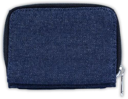 AD-BC19JW Border Collie Girls//Ladies Denim Purse Wallet Christmas Gift Idea