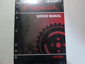 2013-HONDA-CRF250R-CRF-250R-Service-Repair-Shop-Manual-FACTORY-BRAND-NEW-OEM