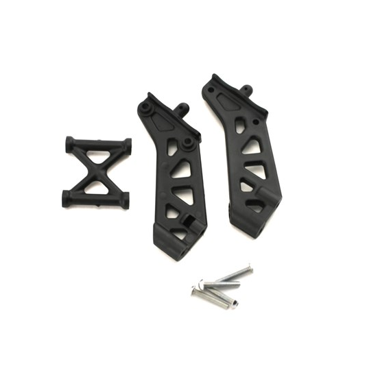 Aluminum Wing Mount Set  For Losi TLR 8ight 3.0 B+T Losa4435 Dhawk Racing