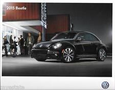 2015 15  VW Bettle  oiginal Sales brochure MINT