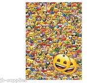 EMOJI OFFICIAL HAPPY BIRTHDAY WRAPPING PAPER 2 SHEETS GIFT WRAP TAGS 50695CM