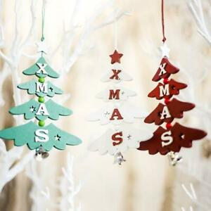 Christmas-Wooden-Pendant-Hanging-Door-Decorations-Tree-Home-Ornaments-Party-K3B1