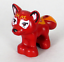 Dark Red Fox Flamy White Orange Markings 41074 41176 NEW LEGO Elves Animal