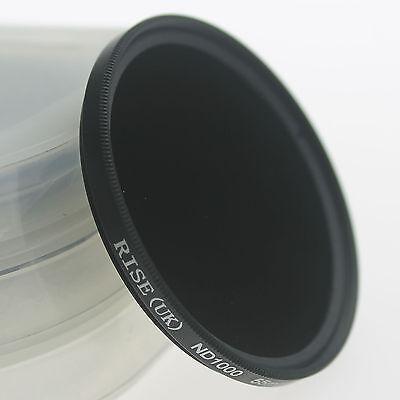 77mm slim Neutral density optical grade ND ND1000 filter for digital camera lens