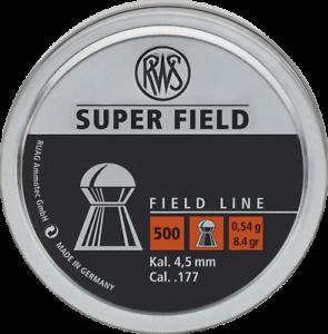 RWS-Superfield-Air-gun-Pellet-177-4-50mm-Qty-500-Free-P-amp-P
