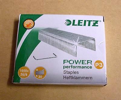 26//6 5 Pakete Tackerklammern 26 6 Grösse 5x LEITZ Heftklammern 5572-00-00