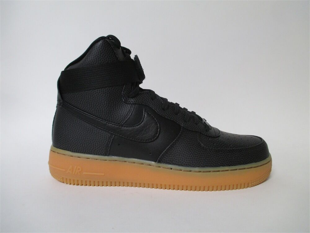 Nike Womens Air Force 1 High Black Gum Dark Grey Sz 10.5 860544-002