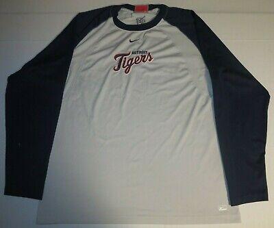 Detroit Tigers Baseball Long Sleeve  Shirt