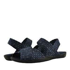 Scarpa-donna-Bernie-Mev-mite-Casual-Criss-Cross-Strap-Sandalo-jeans-NUOVO