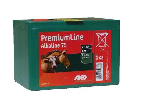 Pila alcalina Pastor//Electrificador 75 AH 9V 16,5cm X 11cm X 11,4cm Premium Line