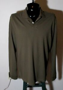 Details about Men's J CREW Brown Long Sleeve