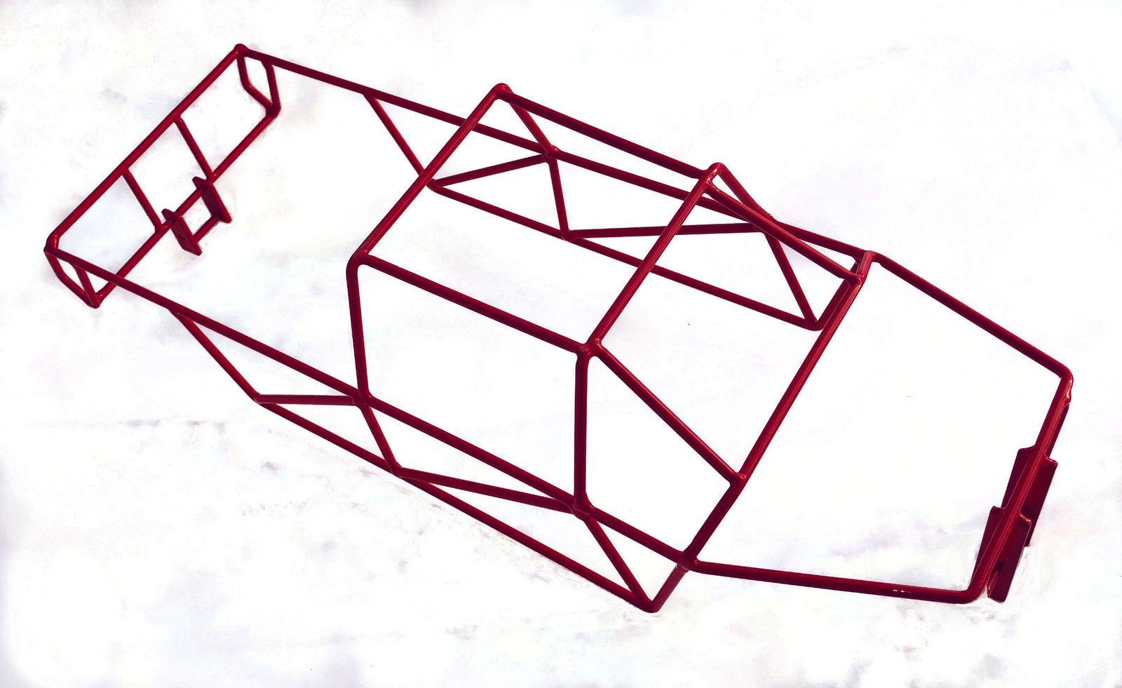 economico e di alta qualità TRAXXAS T-Maxx 4908 4907 Gloss rosso Full Full Full Roll Cage R C Raven NIP   consegna gratuita e veloce disponibile