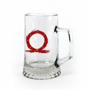 God of War 4 - Glas Bierkrug - Serpent Logo