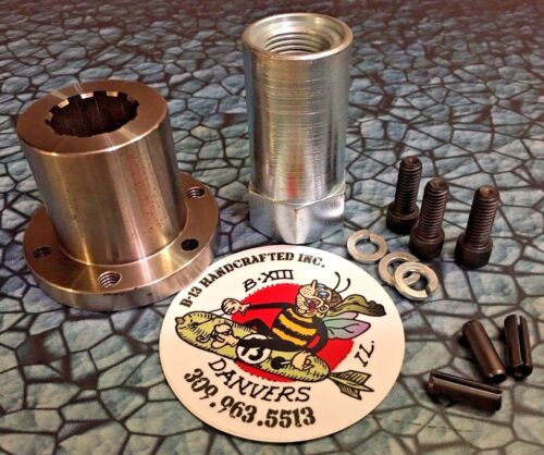 """New BDL 1 3//4/"""" Front Pulley Offset and Nut set part IN-1750 1.75/"""" 58-538"""