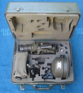 Ir-scheinwerfer-satz Fürs Fero 51 Mit Koffer+akku+montage+ersatzbirnchen Fero51 Binoculars & Telescopes Binocular Cases & Accessories