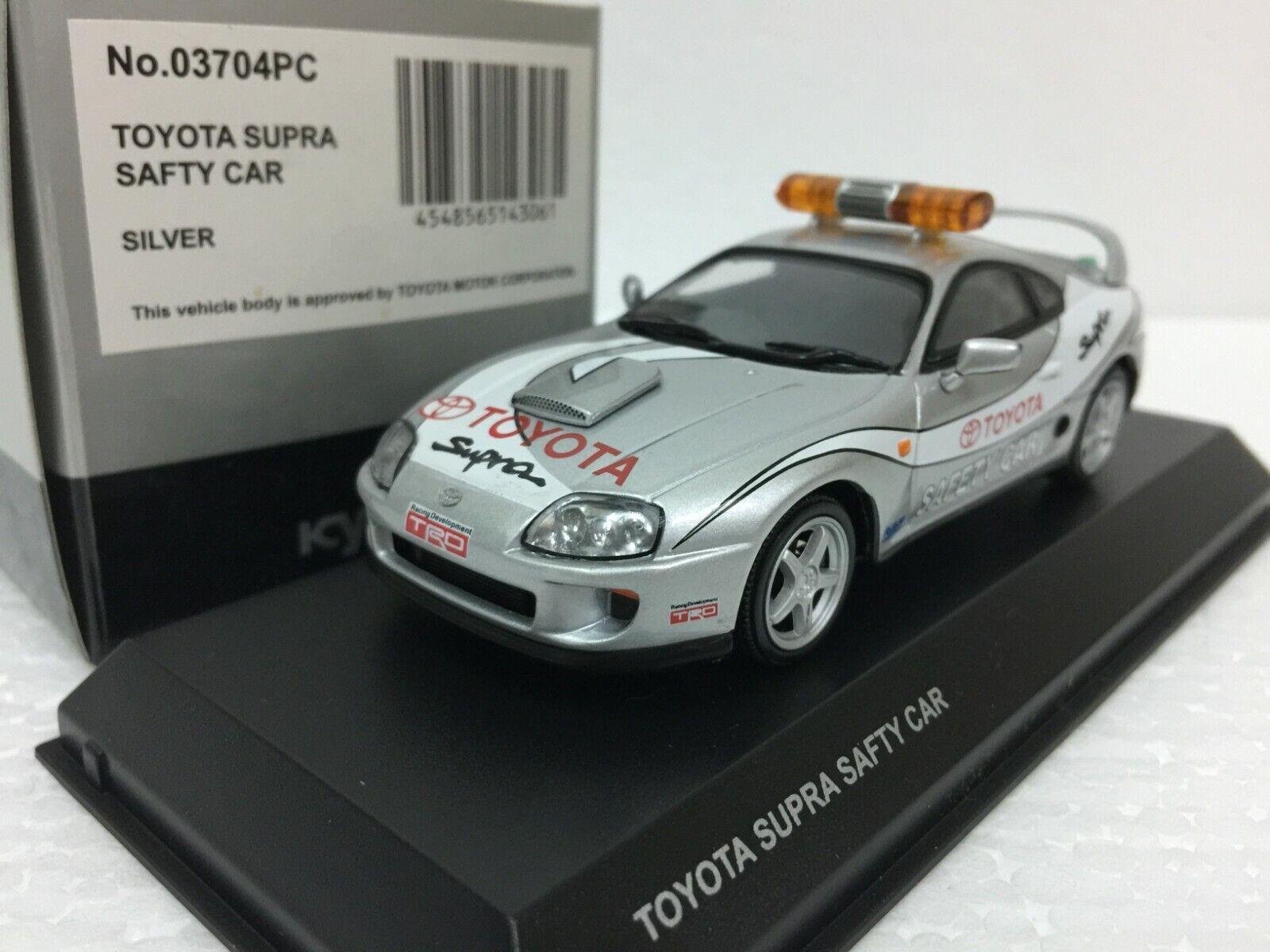 1 43 KYOSHO TOYOTA SUPRA TURBO JZA80 PACE CAR SAFETY CAR model car