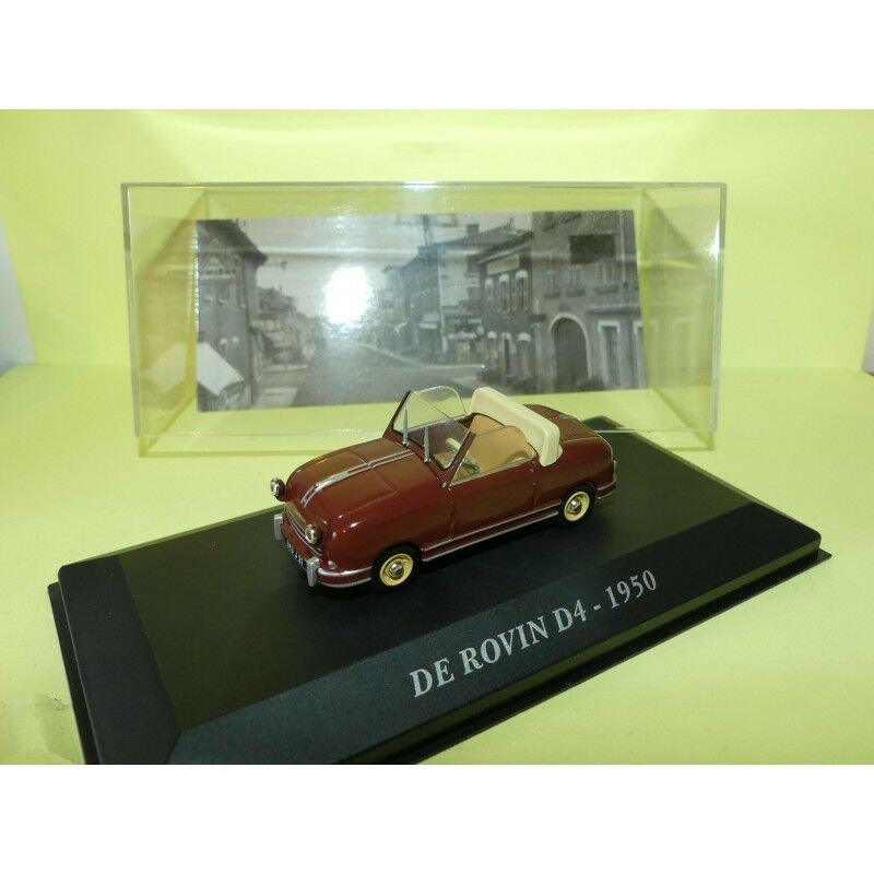 DE ROVIN D4 1950 Bordeaux ALTAYA 1 43