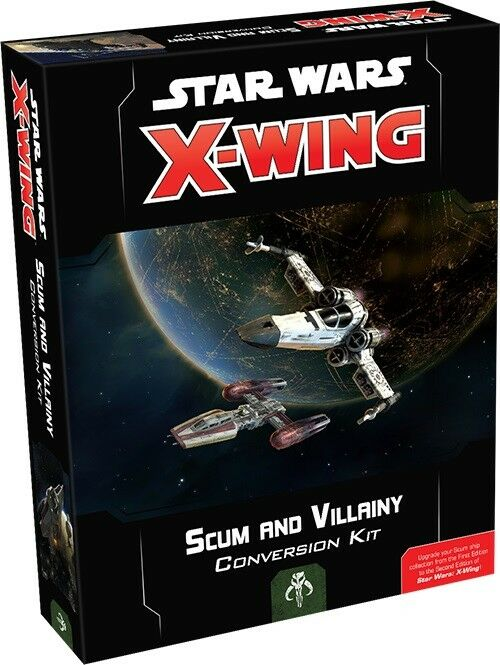 Fantasy Flight Games  Star Wars X-Wing 2nd Edn Scum and Villainy Conversion Kit