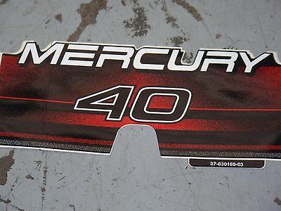 New OEM Mercury 250 EFI Decal Part # 37-830169-40