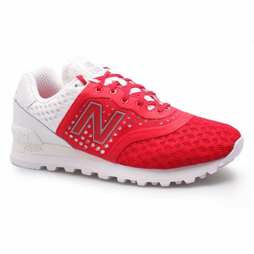 NEW BALANCE REENGINEER RUNNING SNEAKER MEN SHOES RED/WHITE MTL574MR SZ 10 NEW