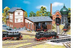 Faller-120176-HO-1-87-Rotonde-a-locomotives-a-3-emplacements