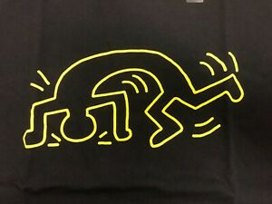 Keith-Haring-X-UNIQLO-SPRZ-NY-Graphic-T-shirt-Black-US-SZ-S-XL-MoMa-New-York-NWT