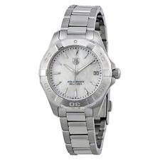 Tag Heuer Aquaracer White Mother of Pearl Dial Steel Ladies Watch WAY1312.BA0915