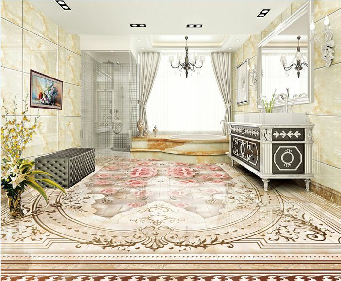 3D Motifs 52 Fond Autocollant d'écran étage Peint en Autocollant Fond Murale Plafond Chambre Art 8c19d3