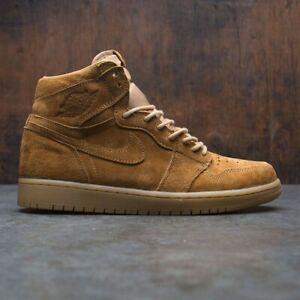 Details about Nike Air Jordan 1 Retro High OG Wheat Golden Harvest Size 8. 555088-710